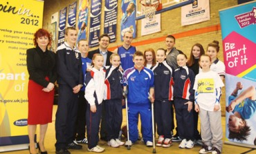 OLYMPIC CAMPAIGN LAUNCHED IN AYCLIFFE
