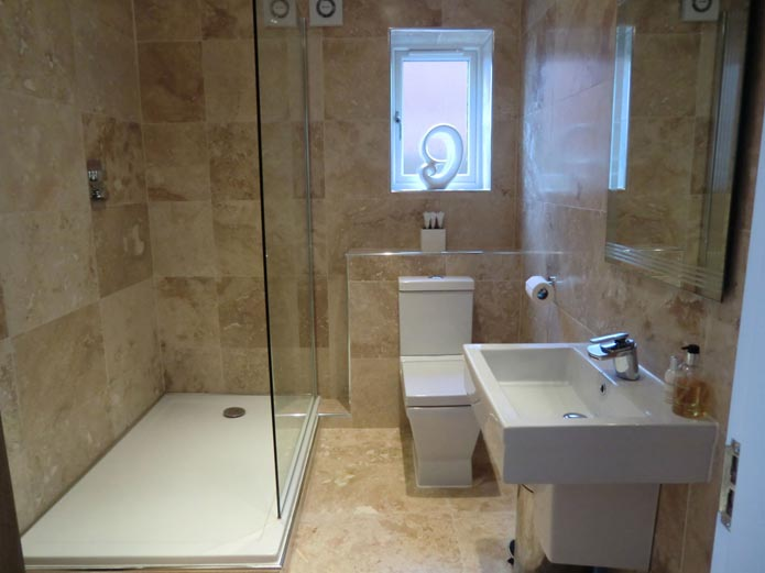 Downstairs shower room wc aycliffe today for Shower room images