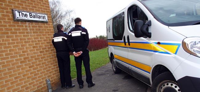 aycliffe police drugs raid