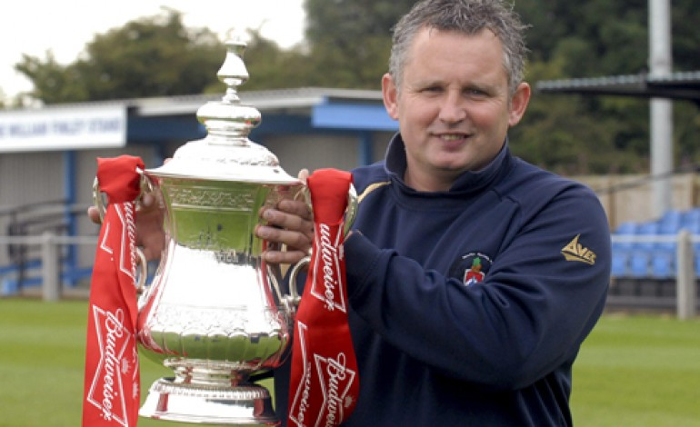 WHEN THE FA CUP CAME TO AYCLIFFE!
