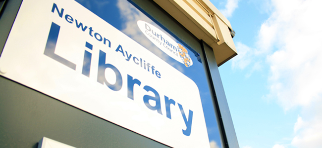 newton aycliffe library