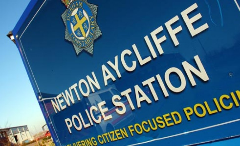 AYCLIFFE CRIME DOWN 25% SAY POLICE
