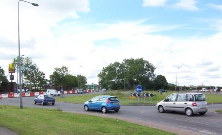 MORE ROADWORKS AT THINFORD ROUNDABOUT