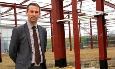 £1.3M WASTE TRANSFER STATION NEARS COMPLETION