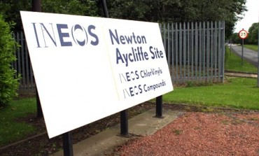 INEOS FINED £10K FOR GAS RELEASE