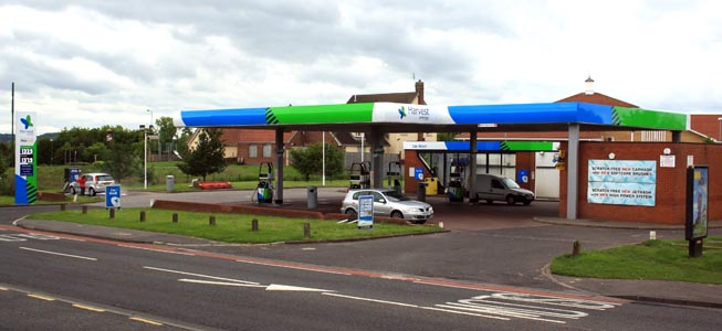 harvest petrol station 2