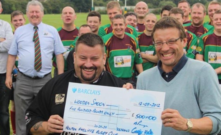 PROUD MOMENT FOR AYCLIFFE RUGBY CLUB