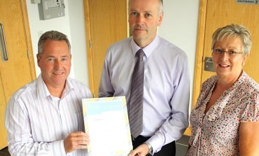 STEEL FIRM PRAISED FOR WORK WITH SCHOOLS