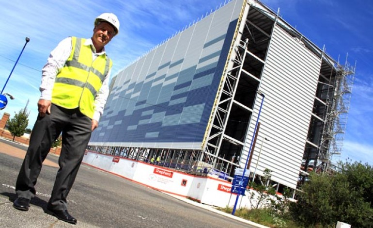 STEEL FIRM COMPLETES £1.9m CONTRACT