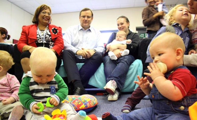 BRITAIN'S NEWEST BABY CAFÉ LAUNCHES IN AYCLIFFE!