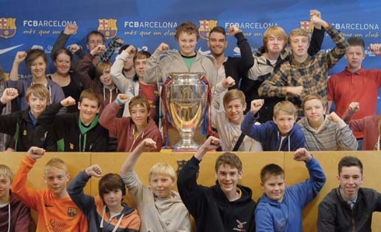 BARCA TRIP FOR WOODHAM STUDENTS