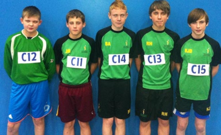 WOODHAM BOYS IN ATHLETICS COMPETITION