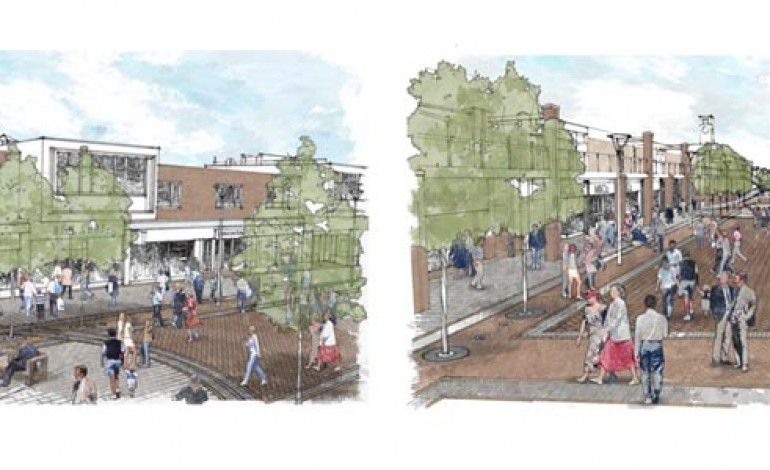 £2M TOWN CENTRE MAKEOVER REVEALED