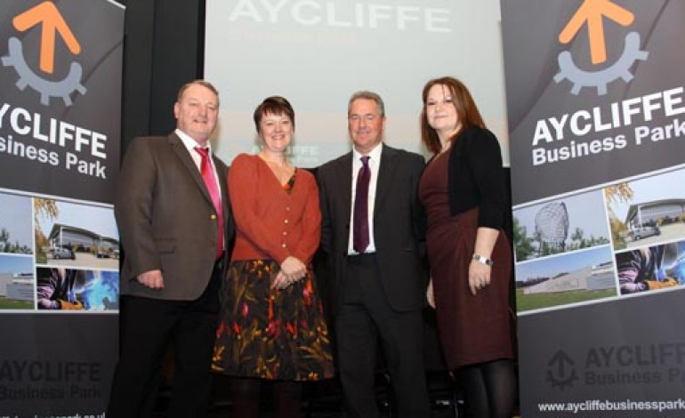 AYCLIFFE BUSINESS PARK IS LAUNCHED!