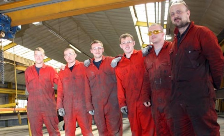 APPRENTICESHIP BOOST FOR AYCLIFFE BUSINESSES
