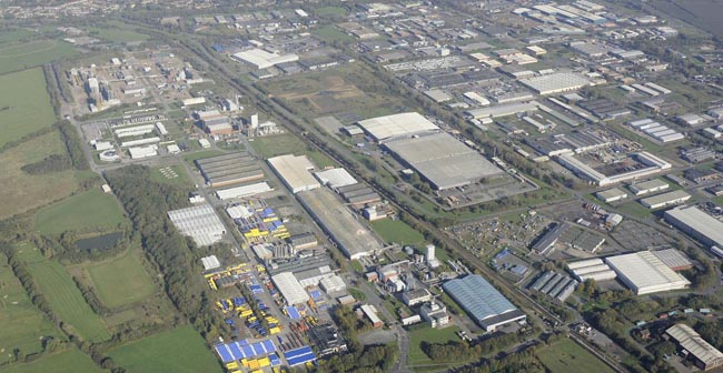 Aycliffe Business Park aerial