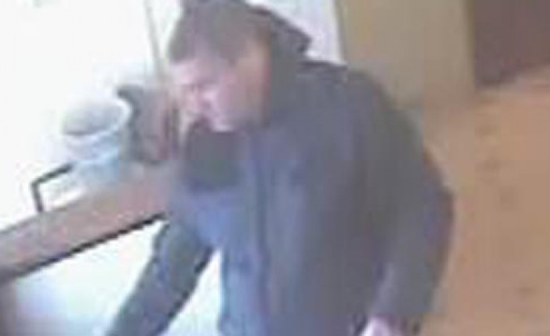 POLICE HUNT MAN AFTER CASH TAKEN FROM LEGION