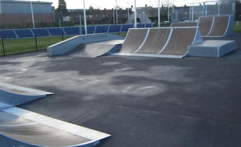 £20K EXTENSION TO POPULAR SKATE PARK