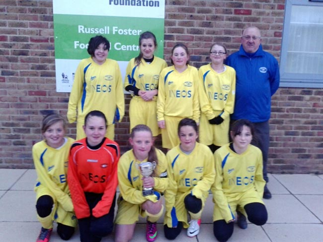 Aycliffe Girls Under 13s