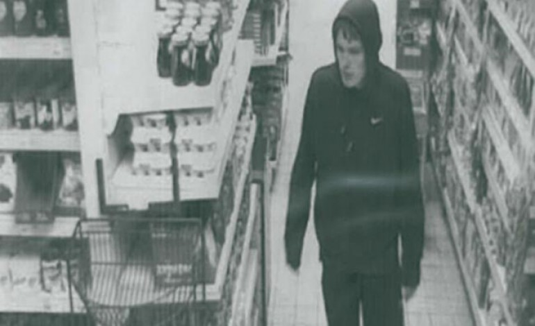 POLICE HUNT CIDER THIEF
