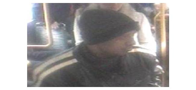 Suspect sexual touching Arriva Bus 19.03.13 D