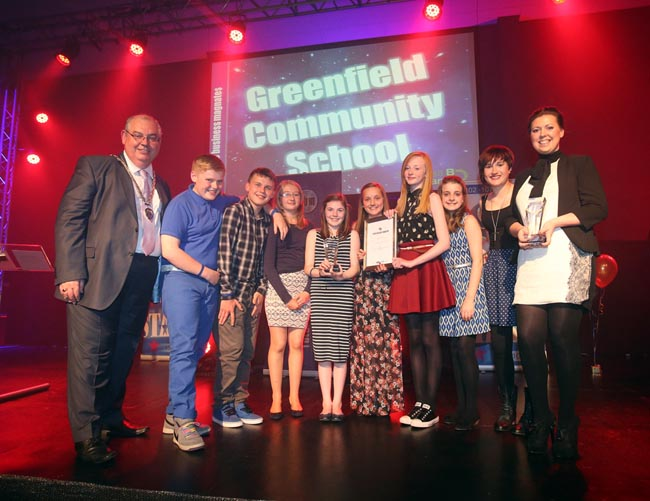 Greenfield School win Business Magnates