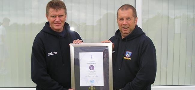 Newton Aycliffe CC Awarded Clubmark