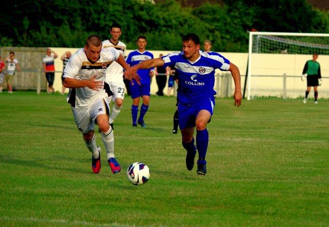 Newton Aycliffe v Darlington pre-season July 2013 13