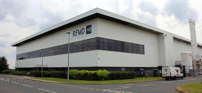 RFMD plant Aycliffe Business Park 1