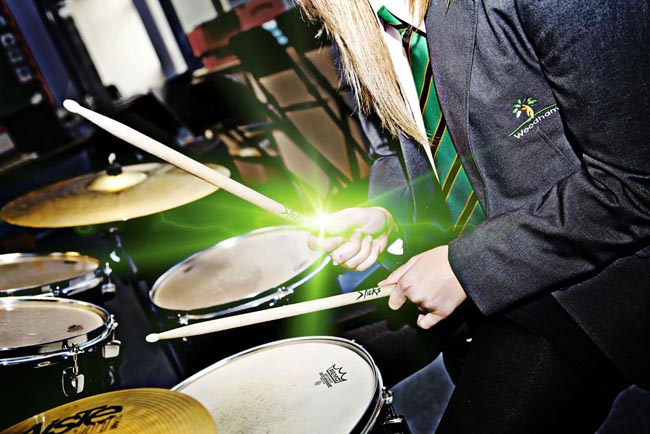 music at woodham academy