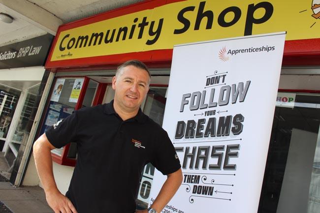 Simon Bowker pop-up apprenticeship 4