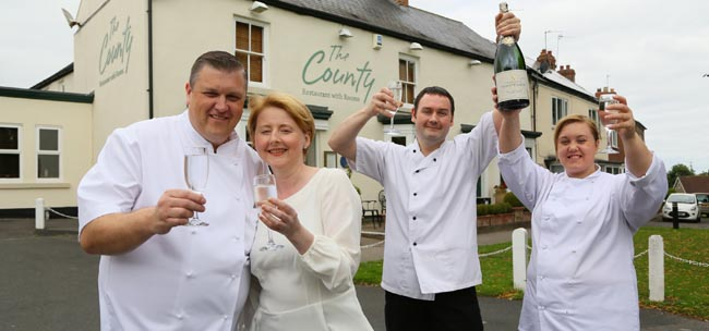 The County pub of the year 2