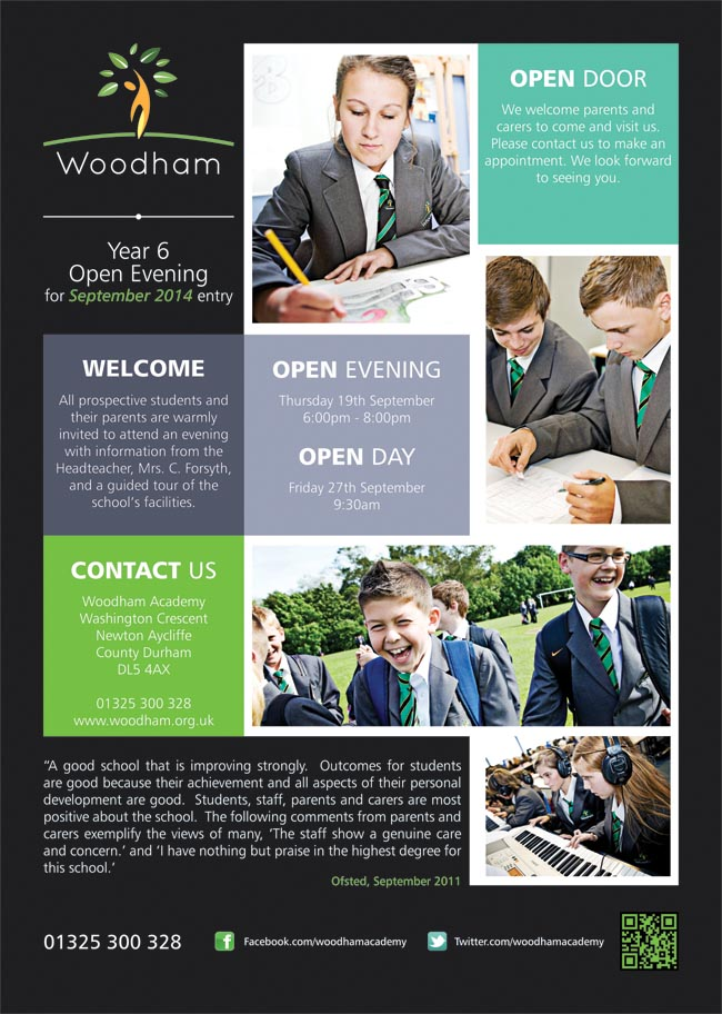 Woodham Academy Open Evening