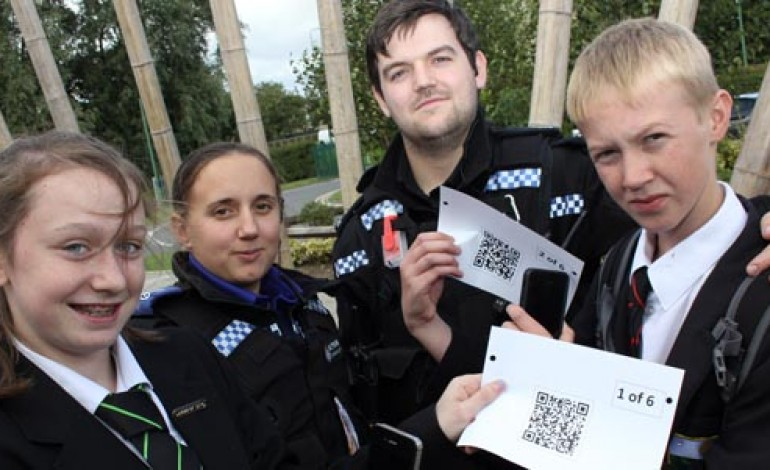 ALCOHOL QR CODES TO EDUCATE YOUNG PEOPLE