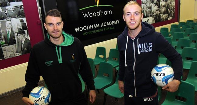 jason steele and liam clough woodham academy 1