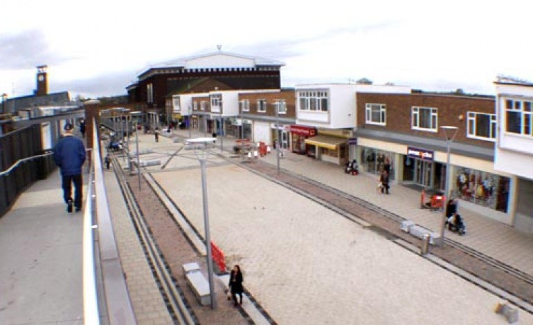 TOWN CENTRE NEARLY FINISHED