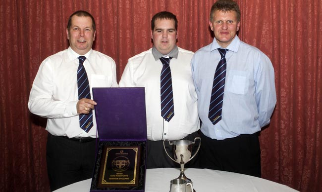 Newton Aycliffe Cricket Club's Award Winners