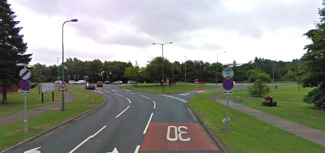 central avenue to A167