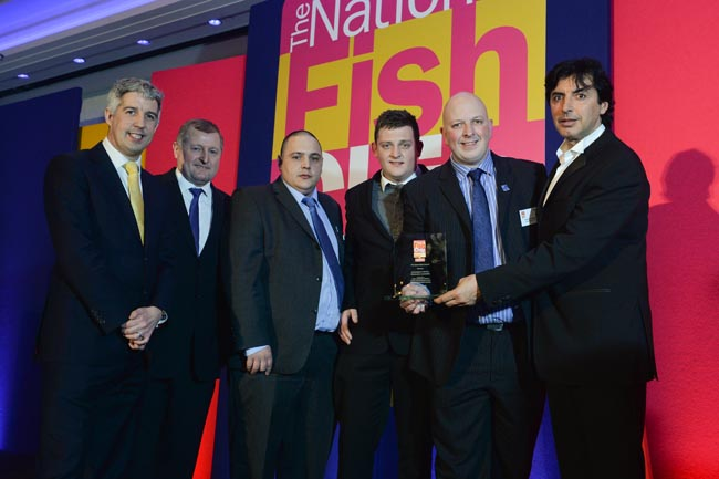 The UK Fish & Chip Awards 2014 in London.  All photographs by Daniel Lewis