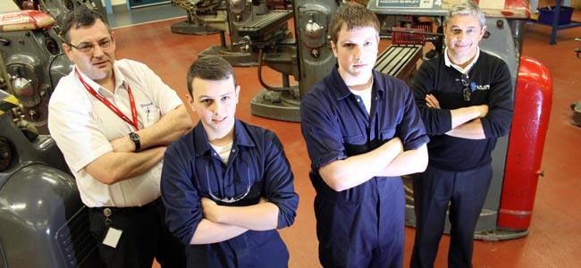 SWDT husqvarna apprentices feb 2014 1