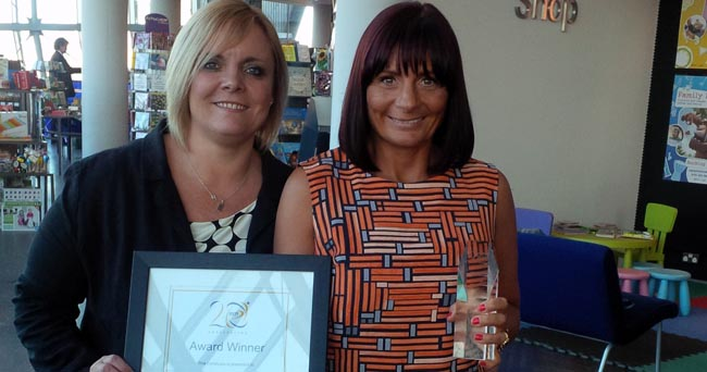 PCP volunteer award