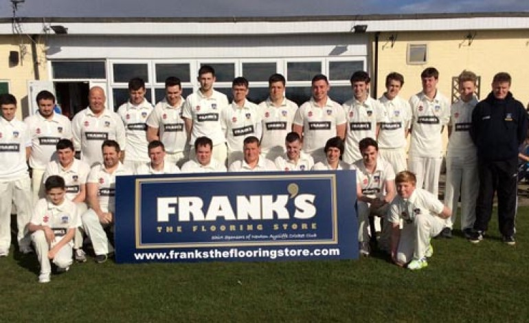 DOUBLE BOOST FOR CRICKET CLUB