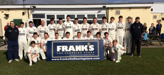 franks sponsor cricket team