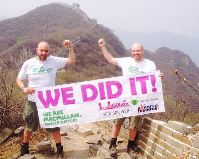 richard and nick parker we did it!