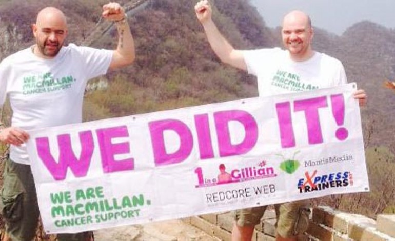 EX-NEWTONIAN COMPLETES CHARITY'S CHINA CHALLENGE