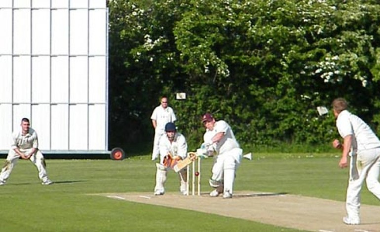 RARE DEFEAT FOR AYCLIFFE'S CRICKET TEAM