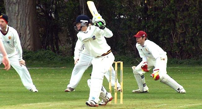 Sam Telford Batting