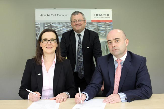 hitachi sign deal with mechan