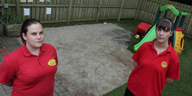 play day nursery astro turf
