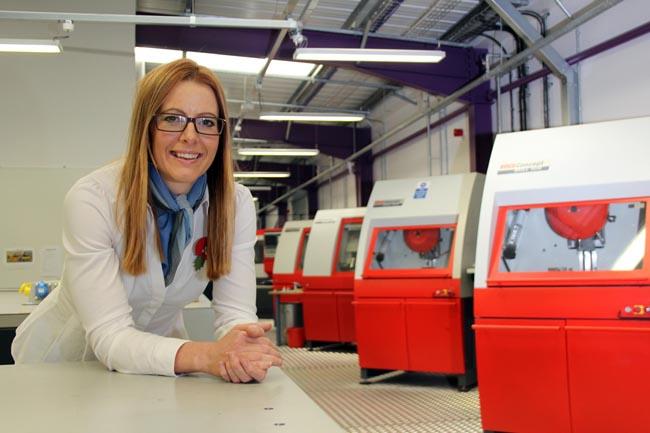 Kate Chapman, business development mananger at SWDT